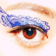 CCL Store  Temporary Tattoo Sticker Eye Makeup Eyeshadow Blue