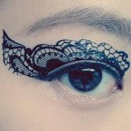 CCL Store  Temporary Tattoo Sticker Eye Makeup Eyeshadow Festive Design