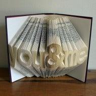 Folded Book Art Sculpture By Luciana Frigerio