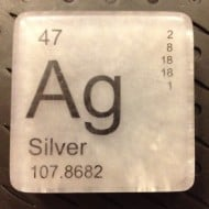 Just Bubbly It is Elementary Periodic Table Soap Silver