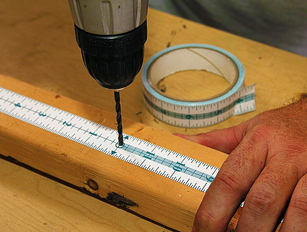 The measuring tape that sticks.