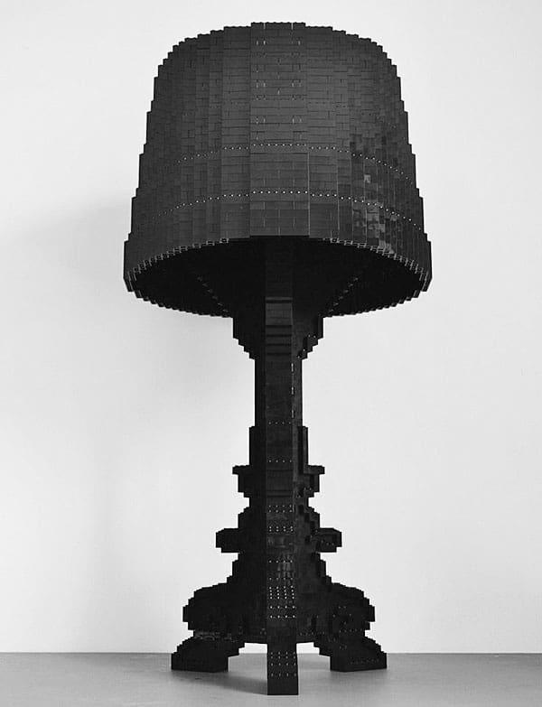 Luxurious Lego table lamp.