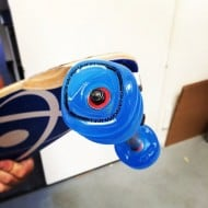 Shark Wheels Square Skateboard Wheels Blue