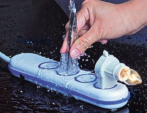 Water resistant power strip.
