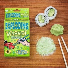 Wasabi flavor eruption in your mouth!