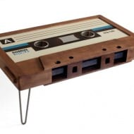 214 Graffiti Classic Cassette Tape Coffee Table Unique Furniture to Buy