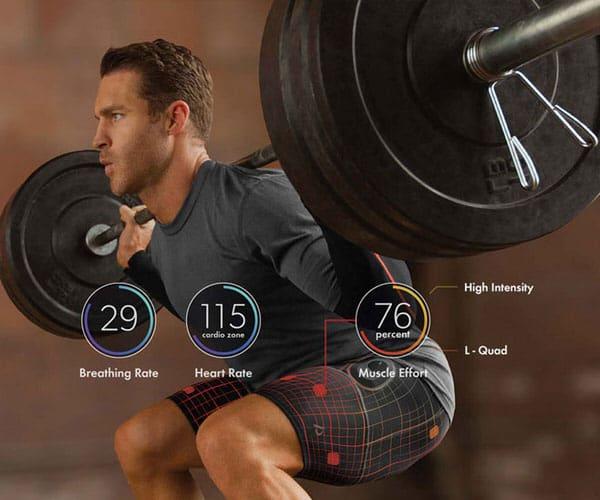 World's first smart fitness apparel.