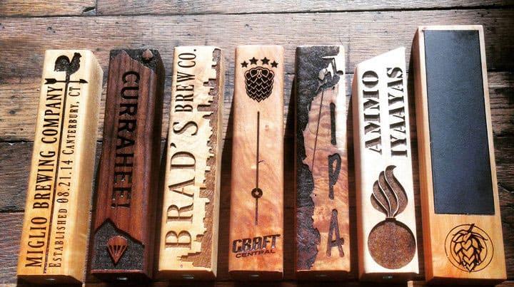 Bearded boy design beer tap handle noveltystreet