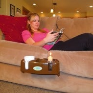 Cupsy Sofa and Couch Beverage Organizer Couch Potato