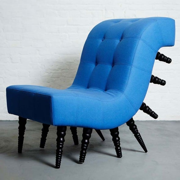 A chair can never have too many legs.