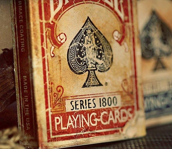 Old looking cards with new tricks up their sleeves.