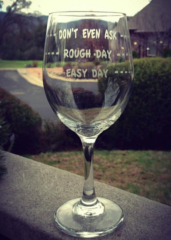Sum up your day in a glass, then drink it!