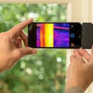 FLIR One Thermal Imaging Equipment Backyard