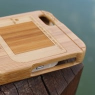 Game boy Bamboo Wood Case Cover for iPhone Hipster Style
