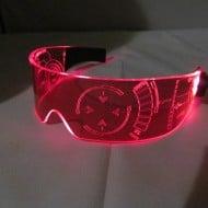 Illumination Cyber Wear Illuminated Cyber Goth Visor Awesome Stuff to Buy