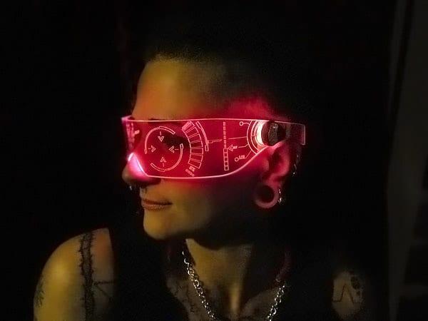 J.A.R.V.I.S. inspired visor.