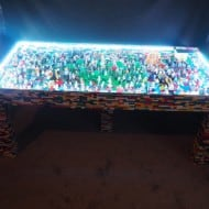 Legotings Handmade Lego Table with over 250 Mini Figures  Everything is Awesome
