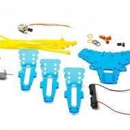 Maker Shed Spinbot Kit Parts