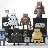 Momot Starwars Darth Vader Paper Craft Figure Complete Set