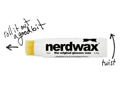 Nerdwax Original Glasses Wax - NoveltyStreet