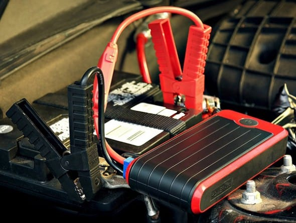 Little device to jump start your car.