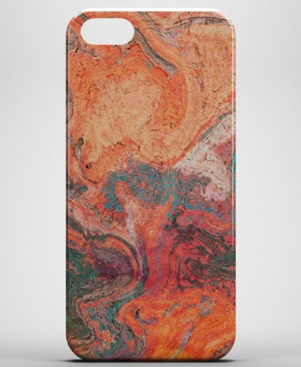 Beautiful red marble for your iPhone.