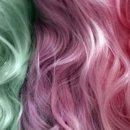 Sharee Boutique Temporary Colored Hair Chalk Cotton Candy Look