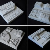 Tom Spina Designs Death Star Inspired Wall Tiles Sci Fi Theme