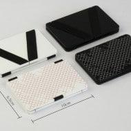 Victoria Magic Wallet Black and White Design