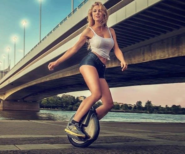 Travel faster with a self balancing wheel.