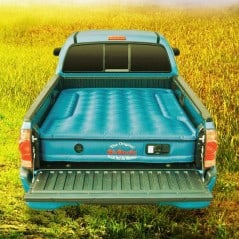 Turn your truck bed into a real bed!