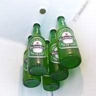 Bottle Loft Magnetic Bottle Hanger Heineken