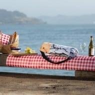 Brogamats Burrito Yoga Bag Picnic by the Sea