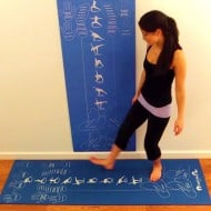 Copycat Yoga Instructional and Educational Yoga Mat Guide