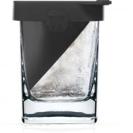 Corkcicle Whiskey Wedge Glass Cool Ice Mold