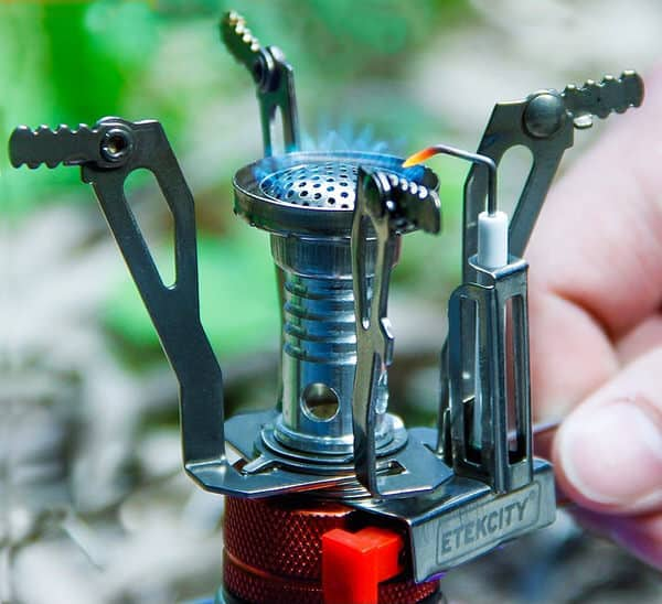 Small stove that fits in your pocket.