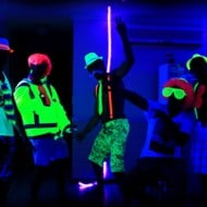 Glow Party World Complete Glow Party Black Light Kit Cool Party