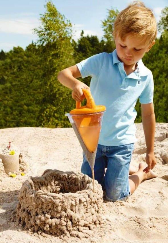 Build your sand castle like a pro!