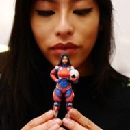 Heromods 3D Printed Custom Superhero Buy for Geek Girlfriend