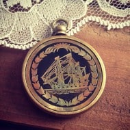 Ingredients for Lovely 1 - 50 Year Perpetual Calendar Pendant Ship Brass