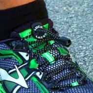 Lock Laces Sports Rubber Shoes