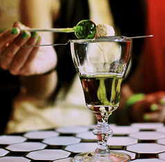 Absinthe in your lollipop?