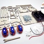 Microbot Labs MeArm DIY Robot Arm Kit Materials