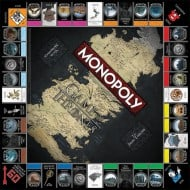 USAopoly Monopoly Game of Thrones Collectors Edition Board