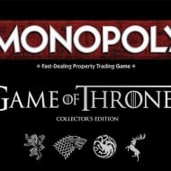 USAopoly Monopoly Game of Thrones Collectors Edition Top Box