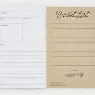 Word Notebooks Adventure Log Bucket List
