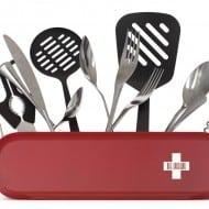 Art Lebedev Studio Swissarmius Kitchen and Desk Organizer Swiss Army Knife Inspired Design