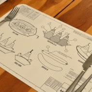 Awkward Engineer Engineering Blueprint Placemat Set Ice Cream Cross Section