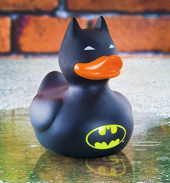 The caped crusader is in your bathtub.