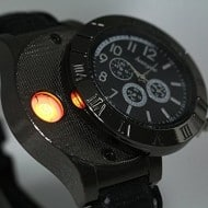Digital USB Lighter Watch Gift for Smokers